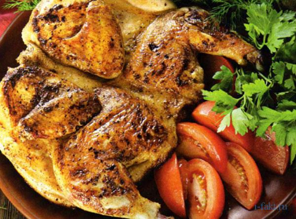Почему блюдо цыпленок табака так называется
