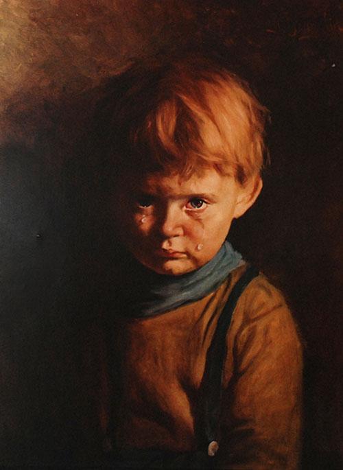 """Проклятие """"плачущего мальчика"""""""