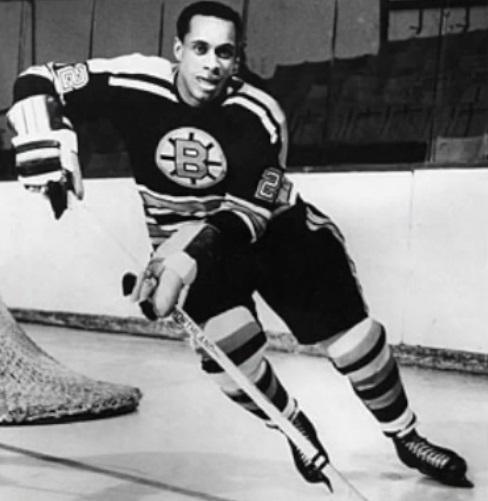 Первый чернокожий хоккеист