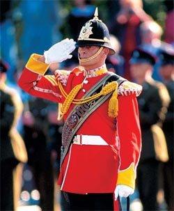 Воинское приветствие в англии