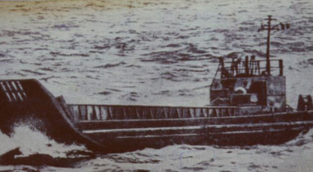 Баржа Т36