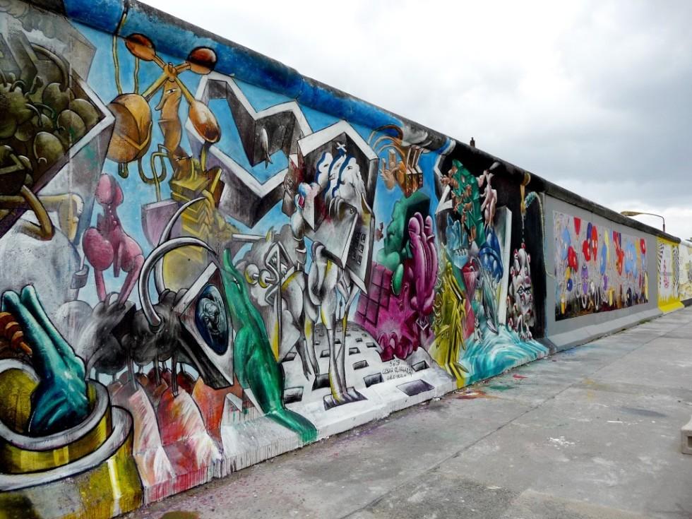 Роспись Берлинской стены