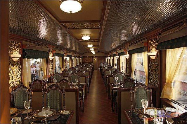 Экспресс махараджей - поезд для богатых