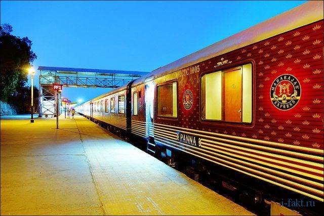 Саммый дорогой поезд Азии