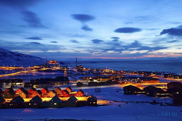 Самый северный город в мире.