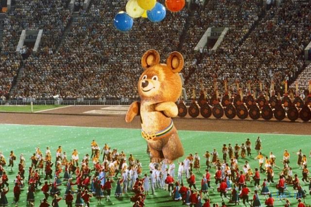 Как появился Олимпийский Мишка
