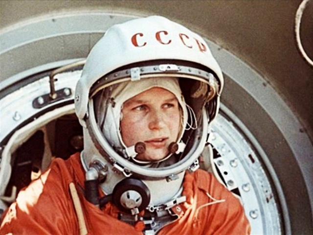 Первая женщина-космонавт