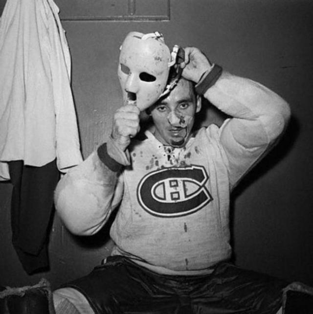 Изобретатель хоккейной маски Жак плант