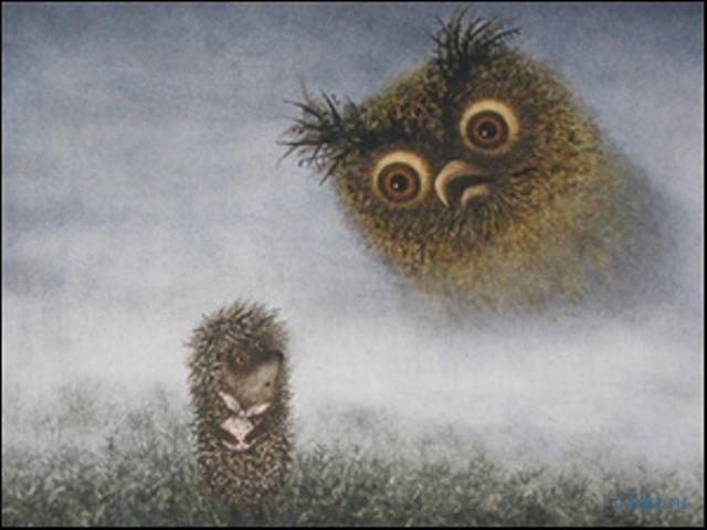 Лучший мультфильм в мире Ежик в тумане