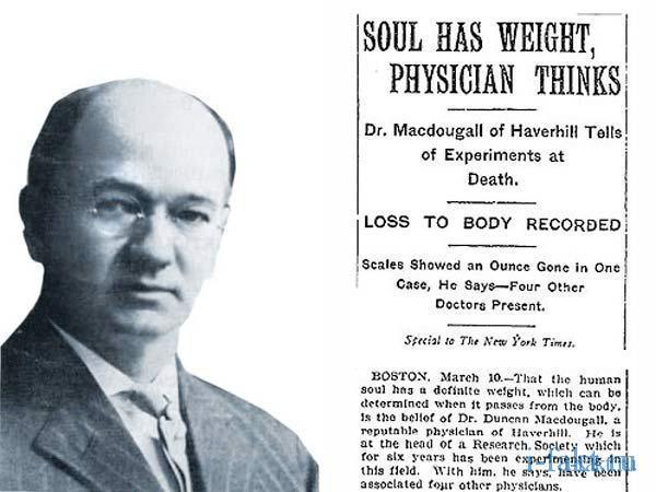 Сколько весит душа