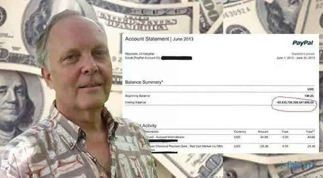 Крис Рейнольдс - самый богатый человек в мире