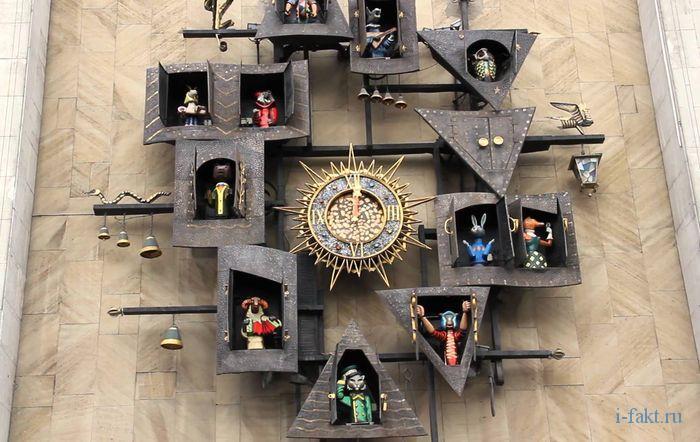 Сказочные часы театра куколв