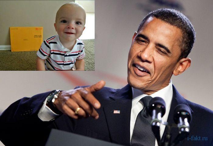 Белый дом поздравил младенца со 101 днем рождения