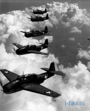 Исчезновение пяти самолетов в бермудском треугольнике
