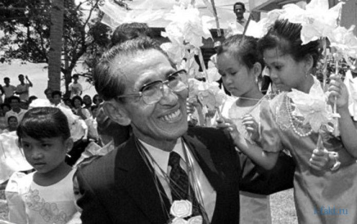 Японский солдат 30 лет в партизанах