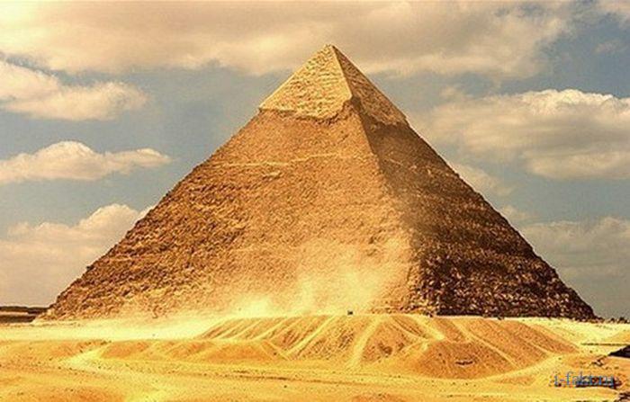 Как выглядит пирамида Хеопса