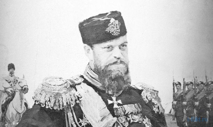 Царь Александр Третий любил охоту