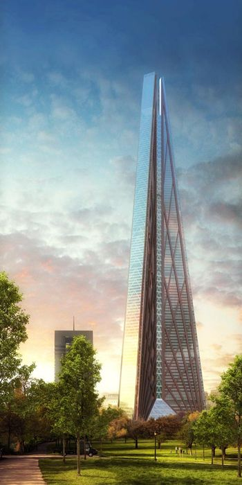 Башня Россия