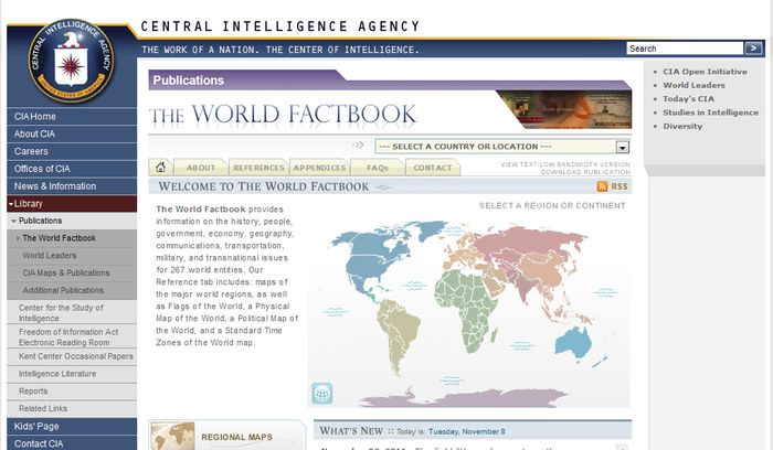 Онлайн альмонах ЦРУ