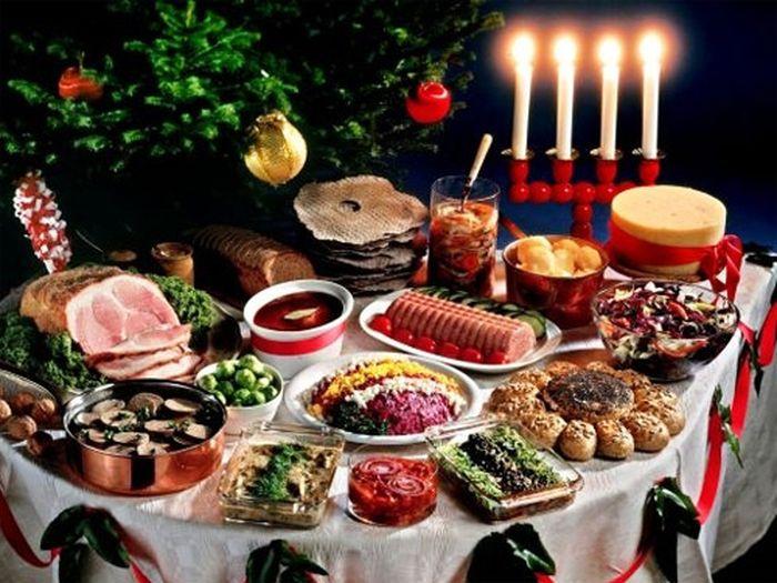 Что едят на новый год