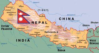 Где находится Непал