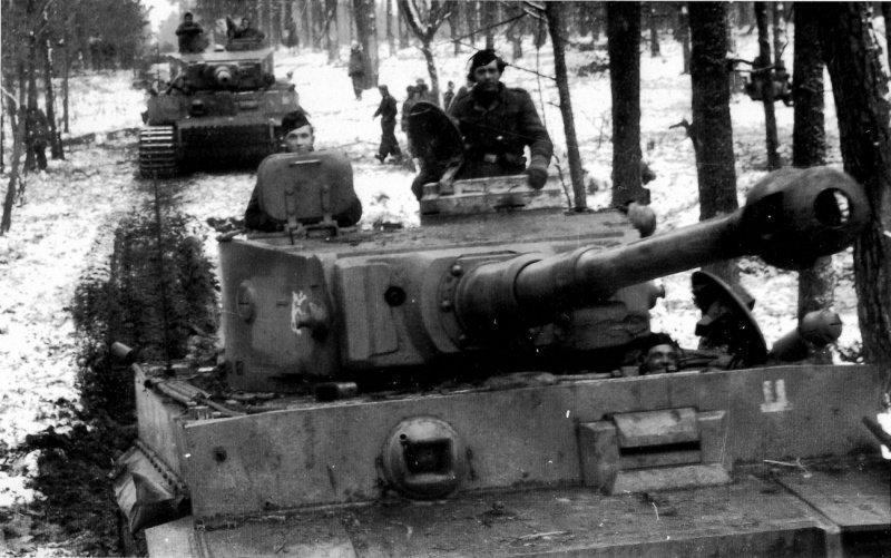 Как  сметливый командир роту танков победил без единого выстрела