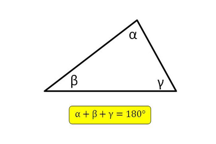 Треугольник с прямыми углами