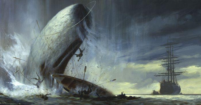 Джеймс Бартли - съеденный кашалотом моряк выжил