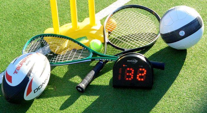 Скорость спортивных снарядов
