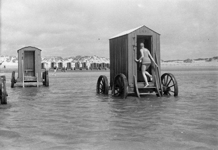 Повозки для купания