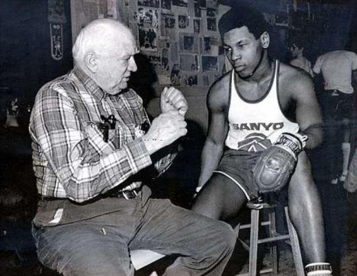 Тайсон и первый тренер
