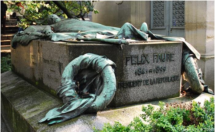 Феликс Фор могила