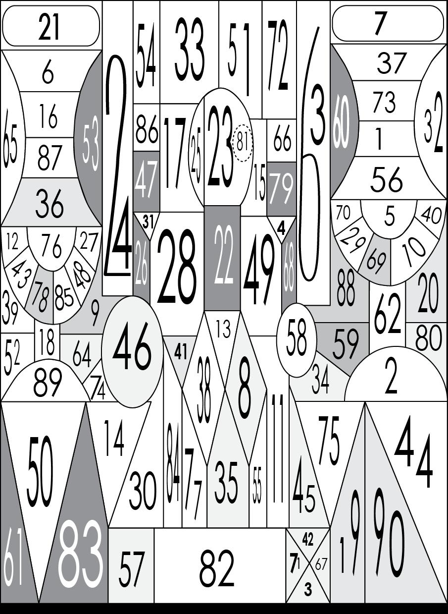 Занимательная таблица для проверки наблюдательности онлайн