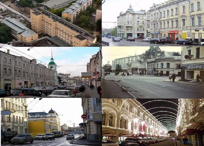 Интересные названия московских улиц