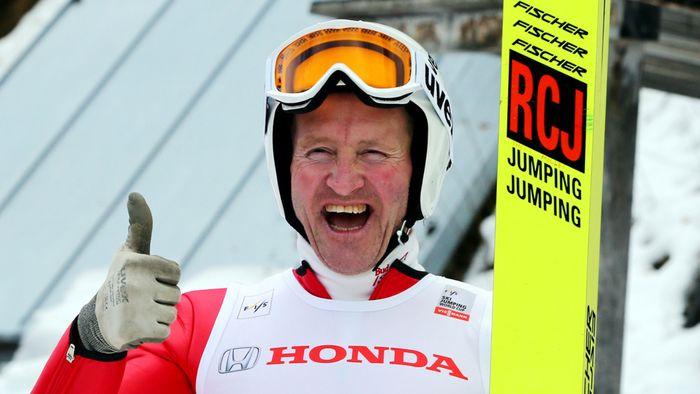 Майкл Эдвардс - британский лыжник