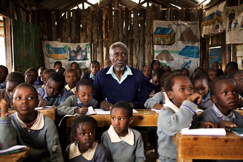 Самый пожилой школьник в мире