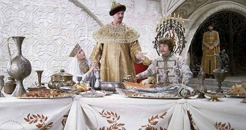 Что ели цари на руси