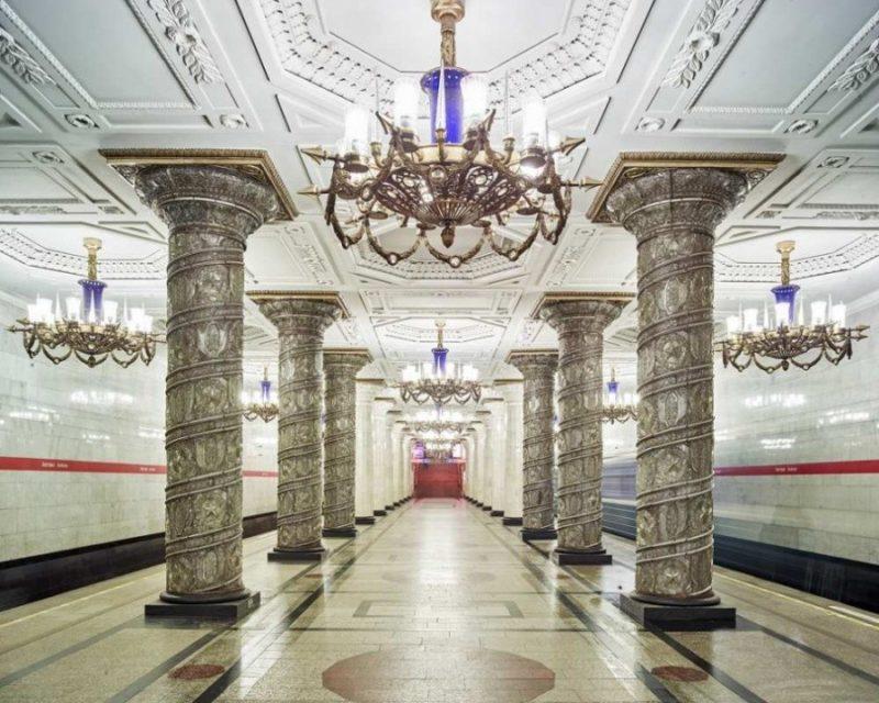 Самая красивая станция метро