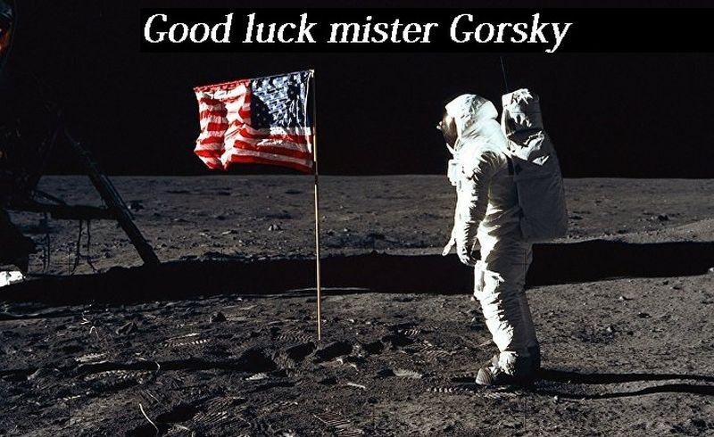 Удачи мистер Горски