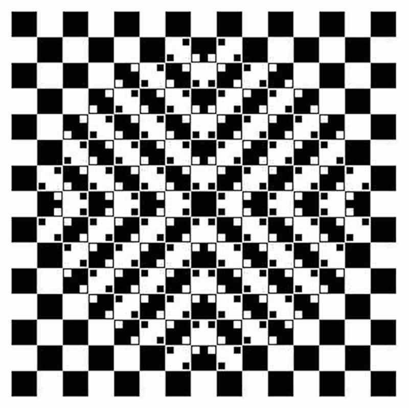 Иллюзия непаралельных линий