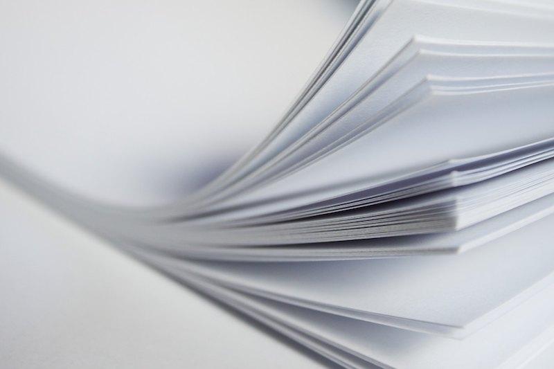 Факты о бумаге