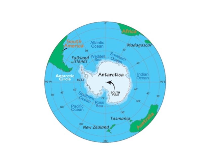 Факты о Южном полюсе