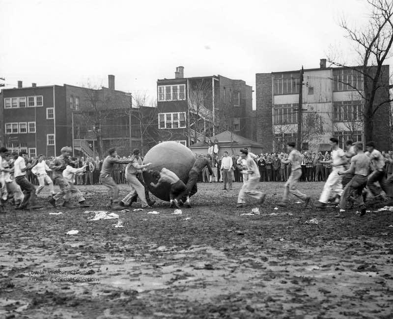 игра Пушбол, 1946 год