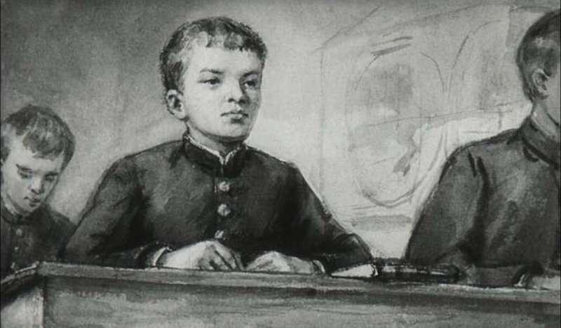 Ленин в гимназии