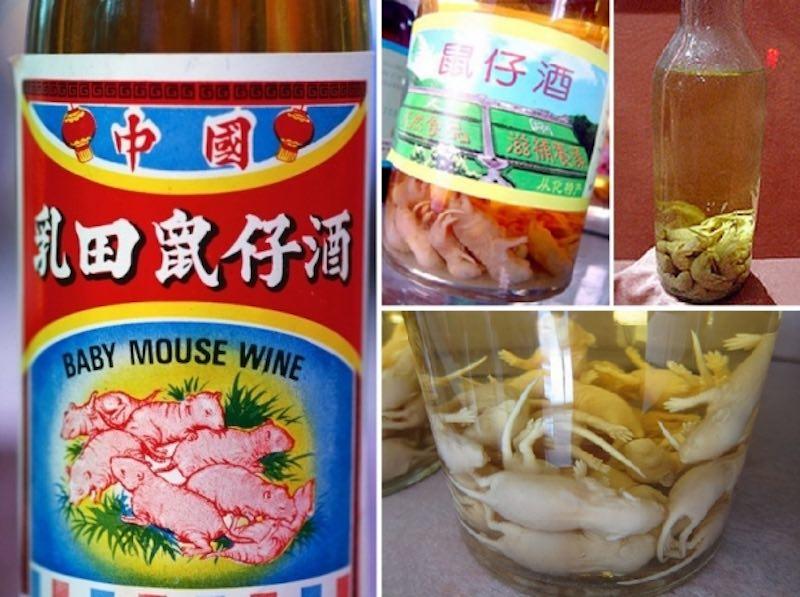 Вино с мышами
