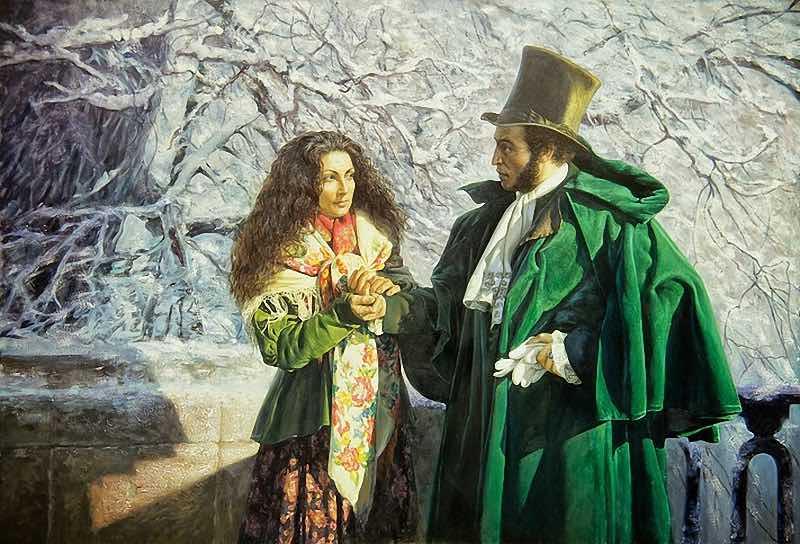 Предсказание Пушкину о смерти