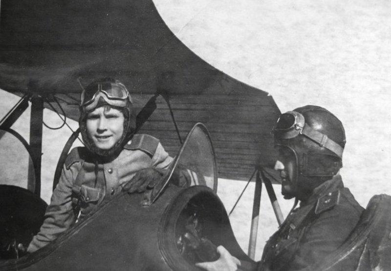 Аркадий Каманин - самый юный летчик Второй мировой войны