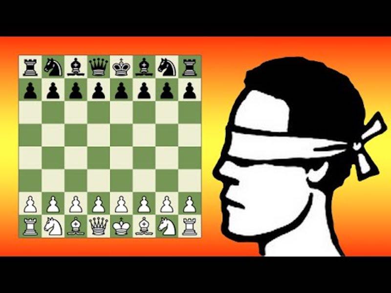 Слепые шахматы - факты