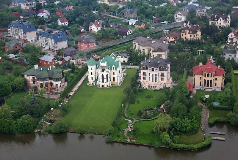 Интересные факты о Рублевке.