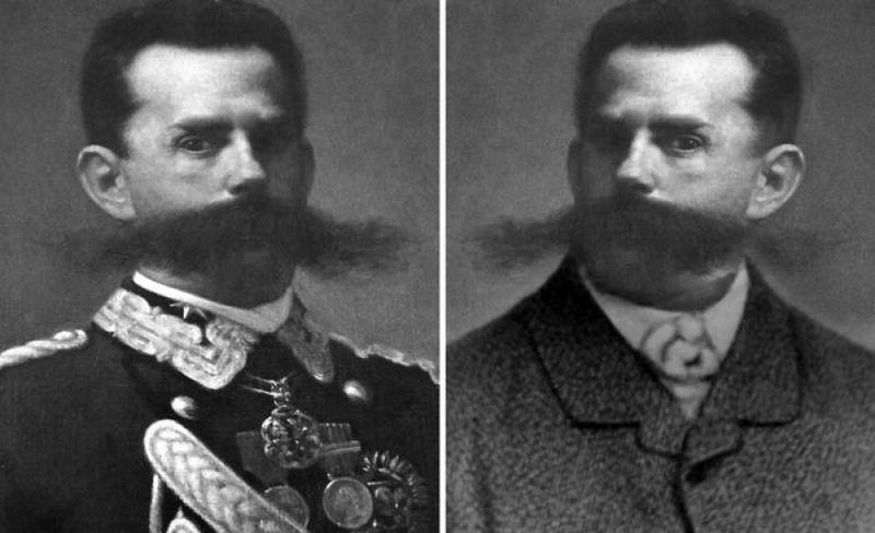Двойник короля Италии.